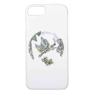 Capa iPhone 8/ 7 Borboleta dos artesanatos de Hekela