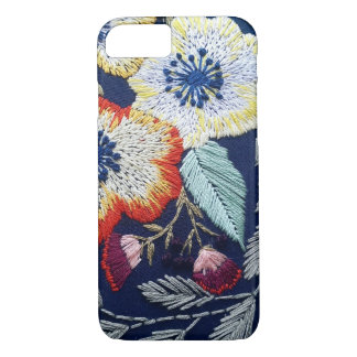 Capa iPhone 8/ 7 Bordado floral