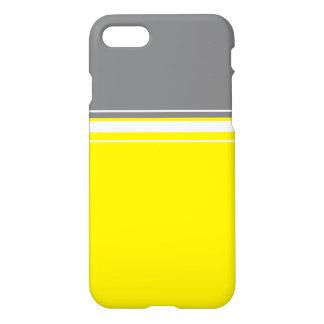 Capa iPhone 8/7 Branco cinzento amarelo à moda IPhone 8/7 de