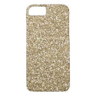 Capa iPhone 8/ 7 Brilho elegante do ouro