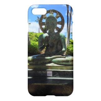 Capa iPhone 8/7 Buddha assentado bronze, Waikoloa, Havaí