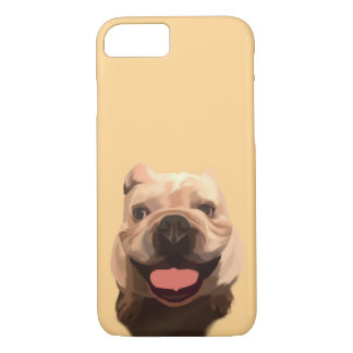 Capa iPhone 8/ 7 Buldogue feliz