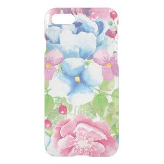 Capa iPhone 8/7 Buquê floral da aguarela bonito