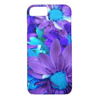 Capa iPhone 8/ 7 Buquê roxo de turquesa de N
