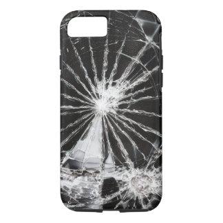 Capa iPhone 8/ 7 Buraco de bala - vidro quebrado