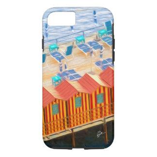 Capa iPhone 8/ 7 Cabanas chiques elegantes de Sorrento