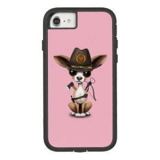 Capa iPhone 8/ 7 Caçador bonito do zombi do filhote de cachorro da
