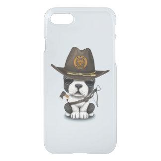 Capa iPhone 8/7 Caçador bonito do zombi do filhote de cachorro do