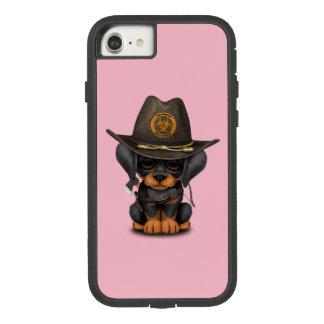 Capa iPhone 8/ 7 Caçador bonito do zombi do filhote de cachorro do