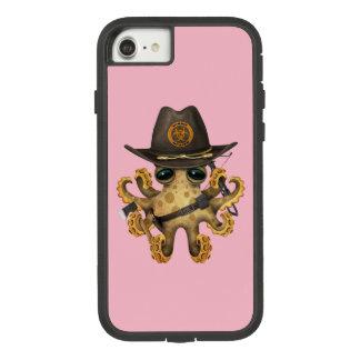 Capa iPhone 8/ 7 Caçador bonito do zombi do polvo do bebê
