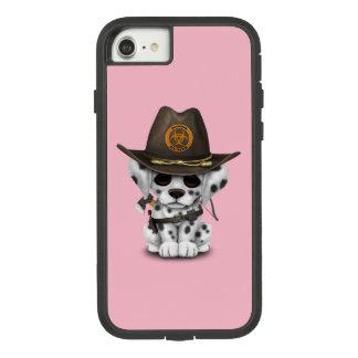 Capa iPhone 8/ 7 Caçador Dalmatian bonito do zombi do filhote de