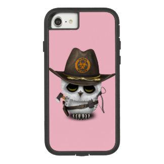 Capa iPhone 8/ 7 Caçador do zombi da coruja do bebê