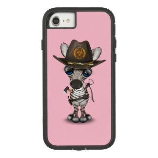 Capa iPhone 8/ 7 Caçador do zombi da zebra do bebê