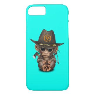 Capa iPhone 8/ 7 Caçador do zombi do macaco do bebê