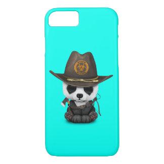Capa iPhone 8/ 7 Caçador do zombi do urso de panda do bebê