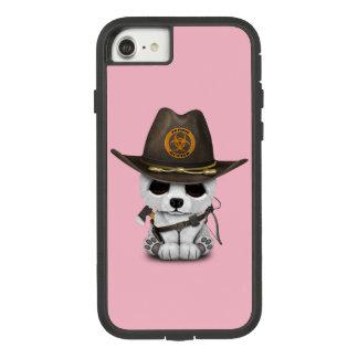 Capa iPhone 8/ 7 Caçador do zombi do urso polar do bebê