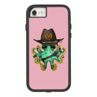 Capa iPhone 8/ 7 Caçador verde do zombi do polvo do bebê