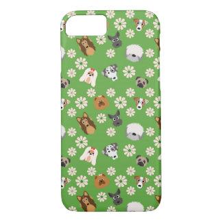 Capa iPhone 8/ 7 Cães & flores