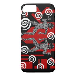 Capa iPhone 8/ 7 Caixa africana do telemóvel dos dançarinos