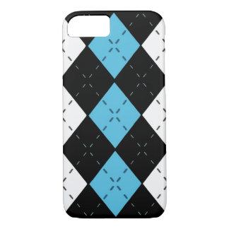 Capa iPhone 8/ 7 Caixa azul do telemóvel de Argyle