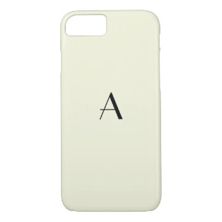 Capa iPhone 8/ 7 Caixa bege Pastel feminino do iPhone 7 com