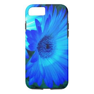 Capa iPhone 8/ 7 Caixa brilhante do iPhone 7 da margarida azul