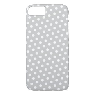 Capa iPhone 8/ 7 Caixa cinzenta & branca do iPhone 6 do teste