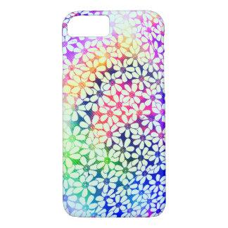 Capa iPhone 8/ 7 Caixa colorida do design iPhone7 da flor