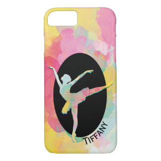 Capa iPhone 8/ 7 Caixa colorida do iPhone 7 da bailarina