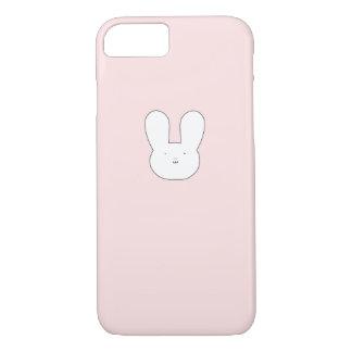 Capa iPhone 8/ 7 Caixa cor-de-rosa do coelho