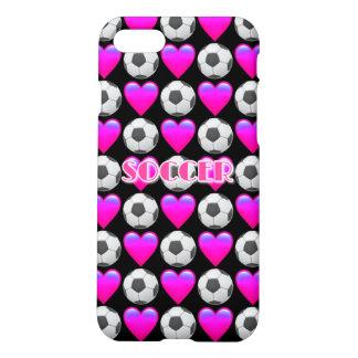 Capa iPhone 8/7 Caixa cor-de-rosa do resíduo metálico do iPhone 7