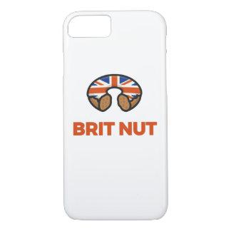 Capa iPhone 8/ 7 Caixa da rosquinha da porca do Británico