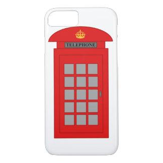 Capa iPhone 8/ 7 Caixa de telefone britânica