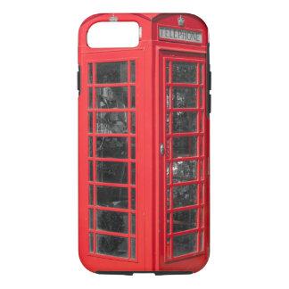 Capa iPhone 8/ 7 Caixa de telefone britânica vermelha