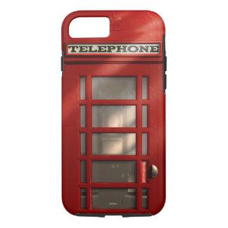 Capa iPhone 8/ 7 Caixa de telefone vermelha britânica do vintage