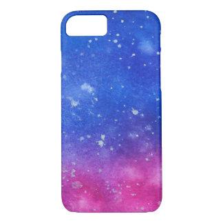 Capa iPhone 8/ 7 Caixa do Splatter da galáxia