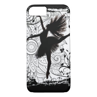 Capa iPhone 8/ 7 Caixa do telemóvel da bailarina