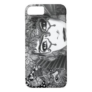 Capa iPhone 8/ 7 Caixa do telemóvel do gato do carnaval