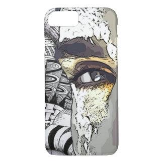 Capa iPhone 8/ 7 Caixa do telemóvel do homem da lama