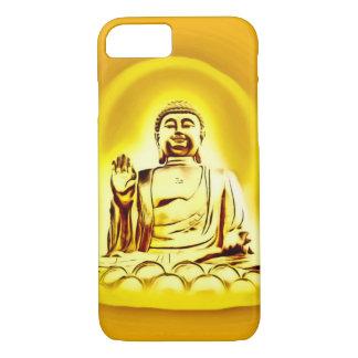 Capa iPhone 8/ 7 Caixa dourada do iPhone 7 da arte do Airbrush de