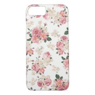 Capa iPhone 8/ 7 Caixa floral Pastel do iPhone 7