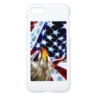 Capa iPhone 8/7 Caixa patriótica do telefone 7 de I