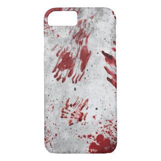 Capa iPhone 8/ 7 Caixa personalizada de Smartphone do sangue do