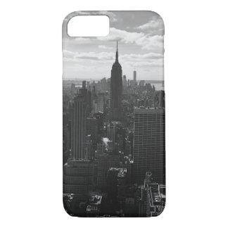 Capa iPhone 8/ 7 Caixa preta & branca do estado do império de New