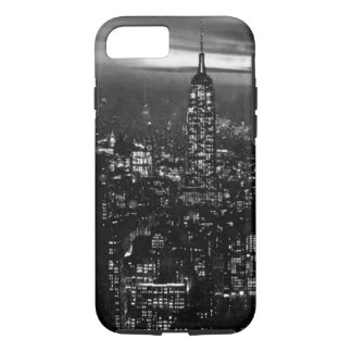 Capa iPhone 8/ 7 Caixa preta & branca do iPhone 7 da Nova Iorque