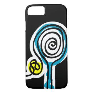 Capa iPhone 8/ 7 Caixa preta do iPhone 7 para o jogador de ténis