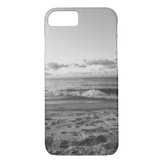 Capa iPhone 8/ 7 Caixa preto e branco do iPhone 7 da opinião da