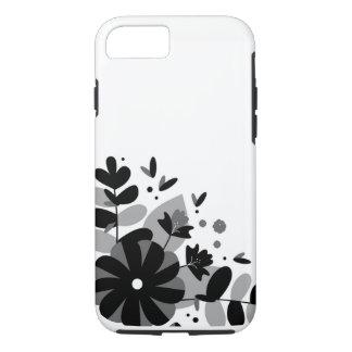 Capa iPhone 8/ 7 Caixa preto e branco do iPhone 7 de Apple do