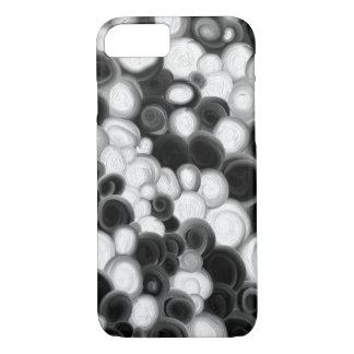 Capa iPhone 8/ 7 Caixa preto e branco dos redemoinhos
