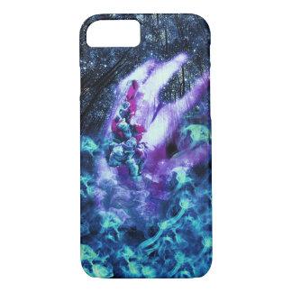 Capa iPhone 8/ 7 Caixa psicadélico da galáxia